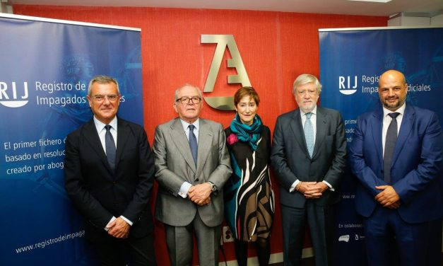 La Abogacía Española, a la vanguardia en la lucha contra la morosidad con el primer Registro de Impagados Judiciales