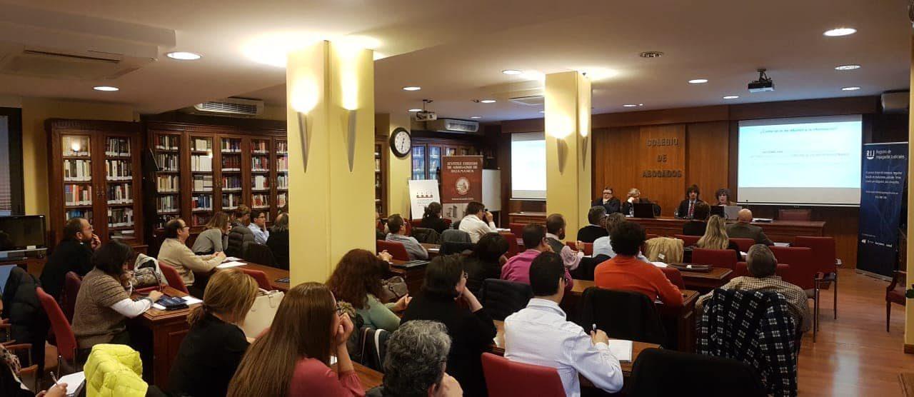 El decano de Salamanca considera el fichero RIJ de «gran utilidad» para abogados y clientes